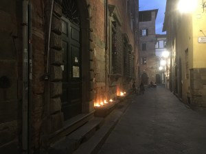 Oil lamps Lucca