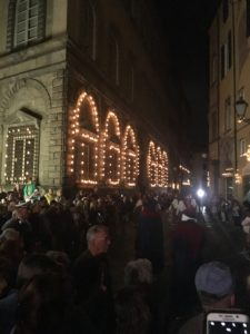 Crowds Lucca procession