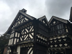 Little Moreton Hall courtyard