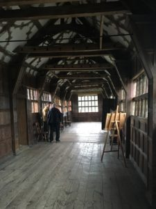 Little Moreton Hall long gallery