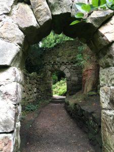 Biddulph Grange stone passage