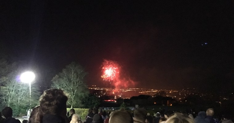 Food and fireworks