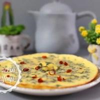 Taze Naneli Kremalı Omlet