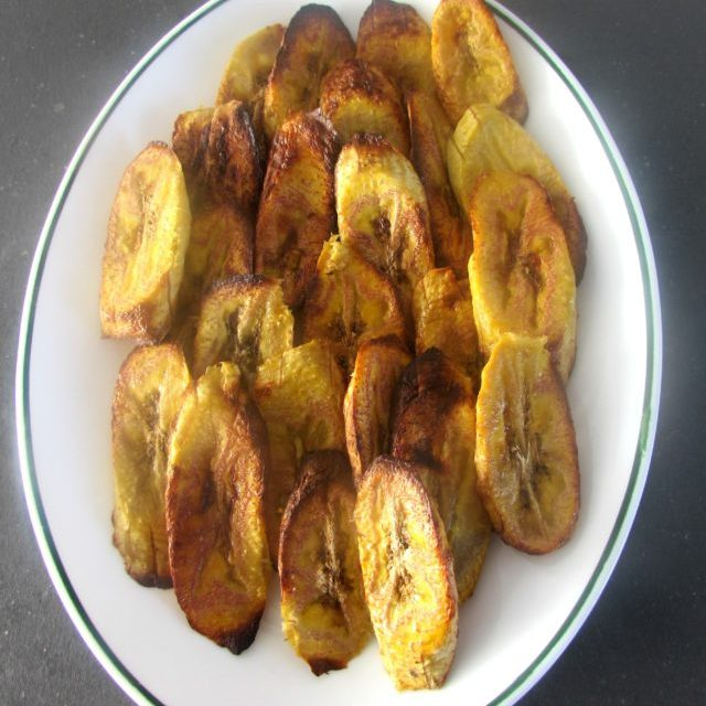 Baked plantains goodness!