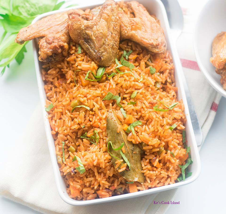 The best cameroonian jollof rice recipe cameroonian jollof rice ccuart Gallery