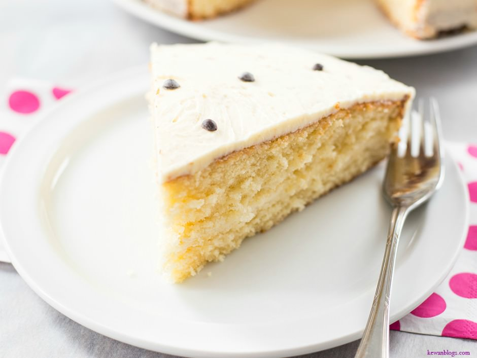 Easy Birthday Vanilla Cake Recipe