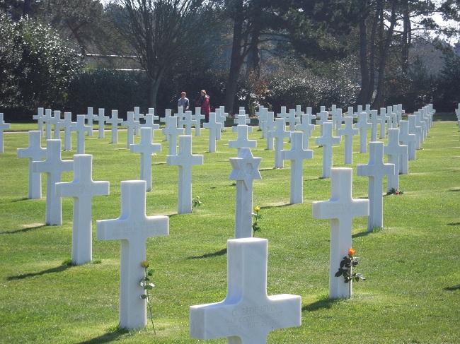 Cementerio Americano Omaha Beach
