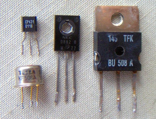 Transistores - Historia del transistor