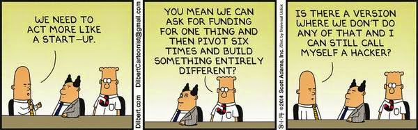 dilbert-we need to act like a startup