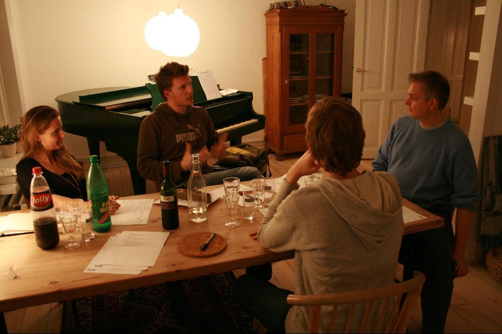 Reunión de una startup