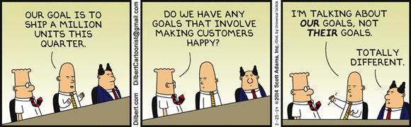 objetivos de satisfacción del cliente - orientación al cliente