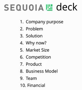 Sequoia deck - investor deck