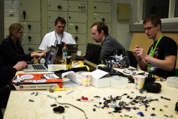 equipo de una startup - hardware