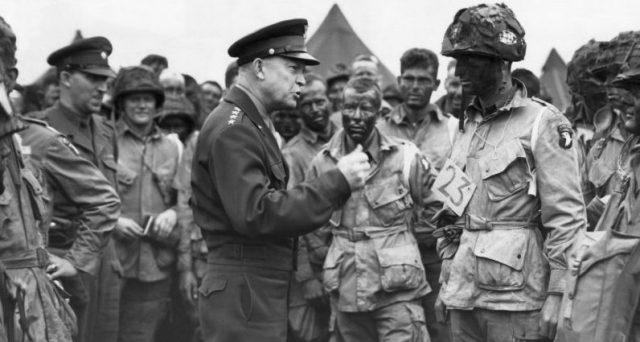 Eisenhower previo al Día D
