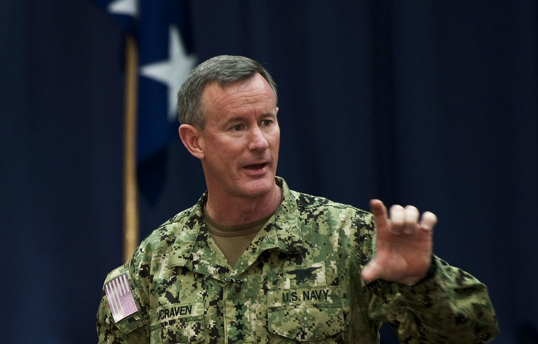 Almirante William H. McRaven hazte la cama