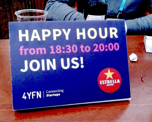 Happy hour MWC