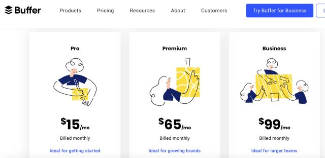 Buffer precios