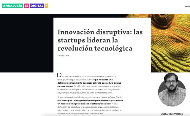innovación disruptiva andalucía es digital juan jesús velasco