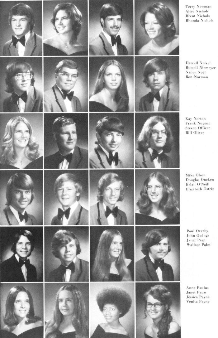 Class Of 1974 David H Hickman High School