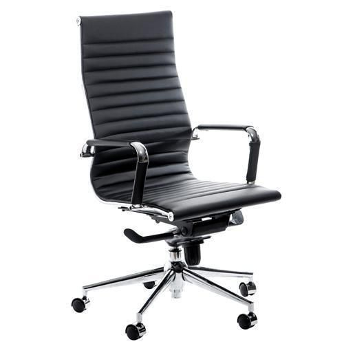 black leather office chair high back lift chairs for sale swale key share this product by e mail