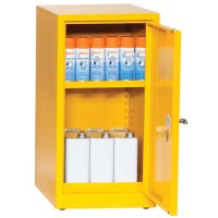 Flammable Storage Cabinet 900x459mm: COSHH Compliant | Key