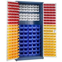 Small Parts Storage Cupboard with Picking Bins | Key