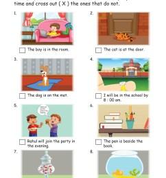 English Worksheets Grade 1 I Prepositions - key2practice Workbooks [ 2560 x 1810 Pixel ]