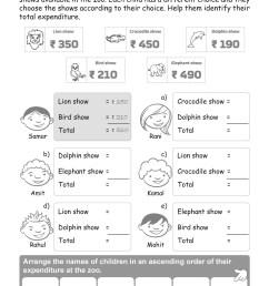 Money Worksheets Grade 2 I Maths - key2practice Workbooks [ 1754 x 1240 Pixel ]