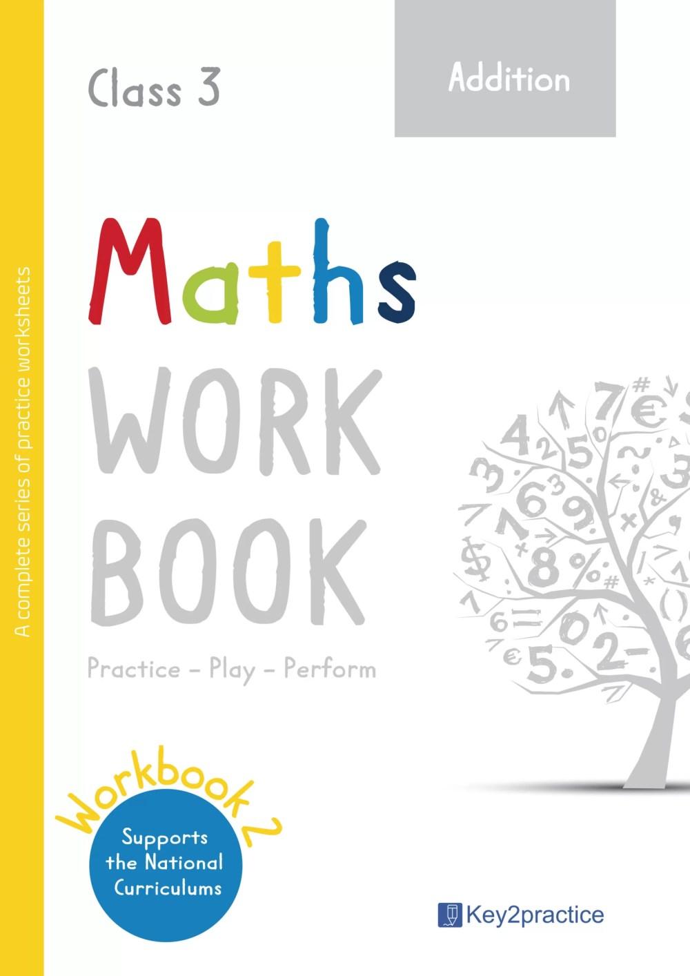 medium resolution of Grade 3 Addition Worksheets I Maths - key2practice Workbooks