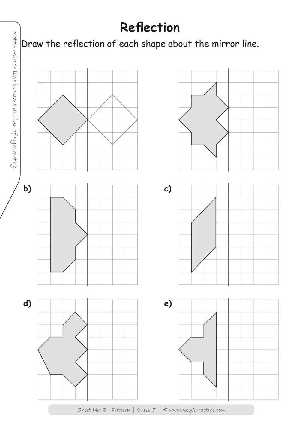 medium resolution of Patterns Worksheets Grade 5 I Maths - key2practice Workbooks