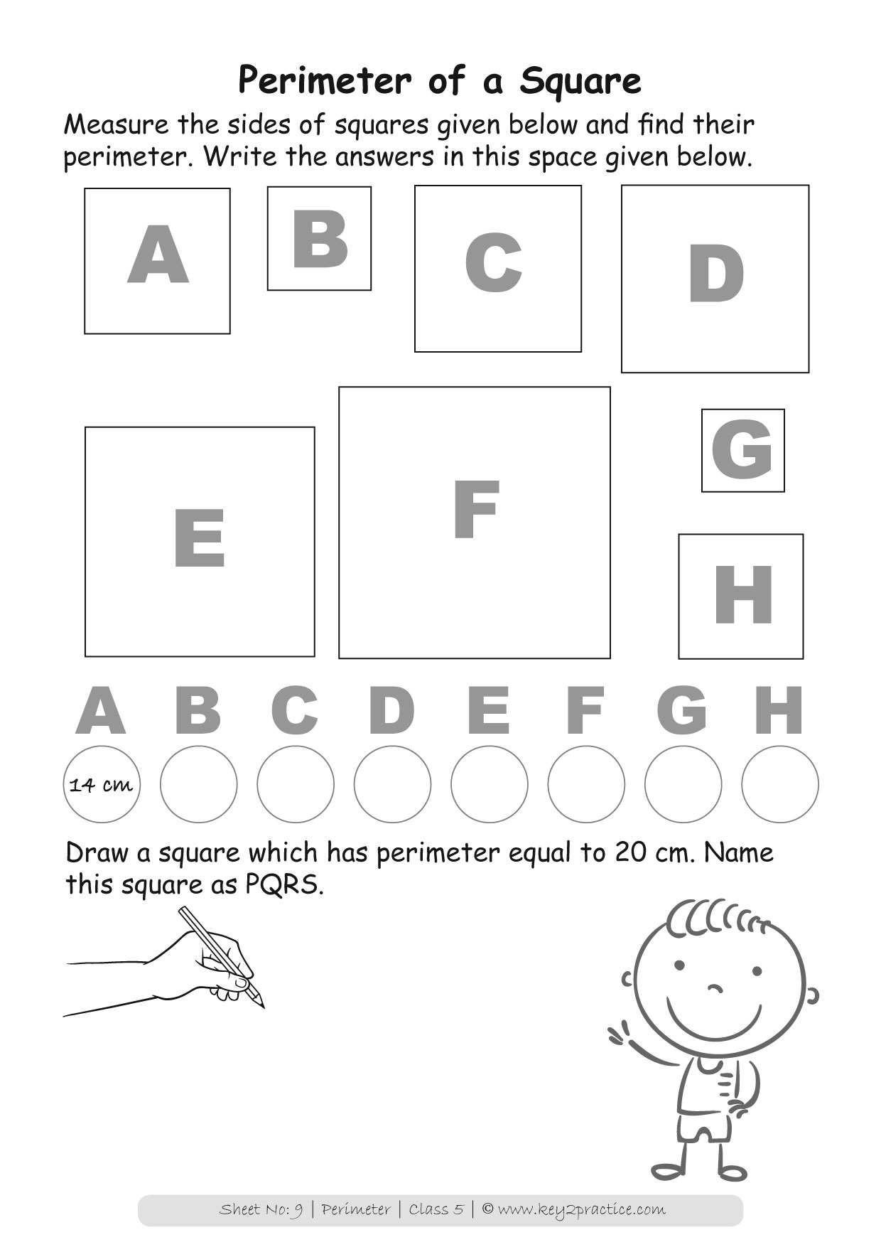 Maths Worksheets Grade 5 Chapter Perimeter