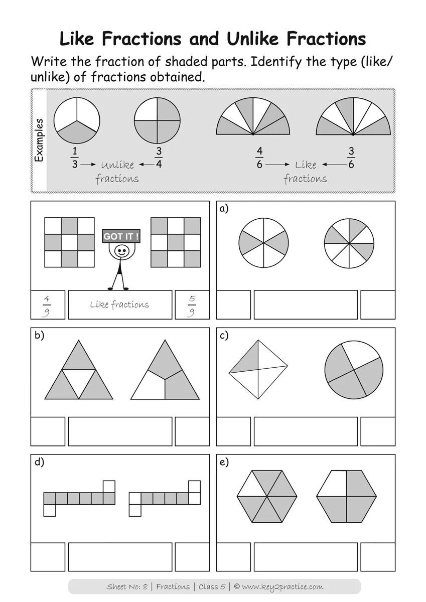 medium resolution of Maths Worksheets I Package of 13 Workbooks I Grade-5 - key2practice