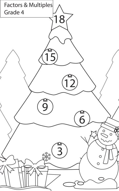small resolution of Worksheets HCF-LCM Grade 4 Maths - key2practice Workbooks