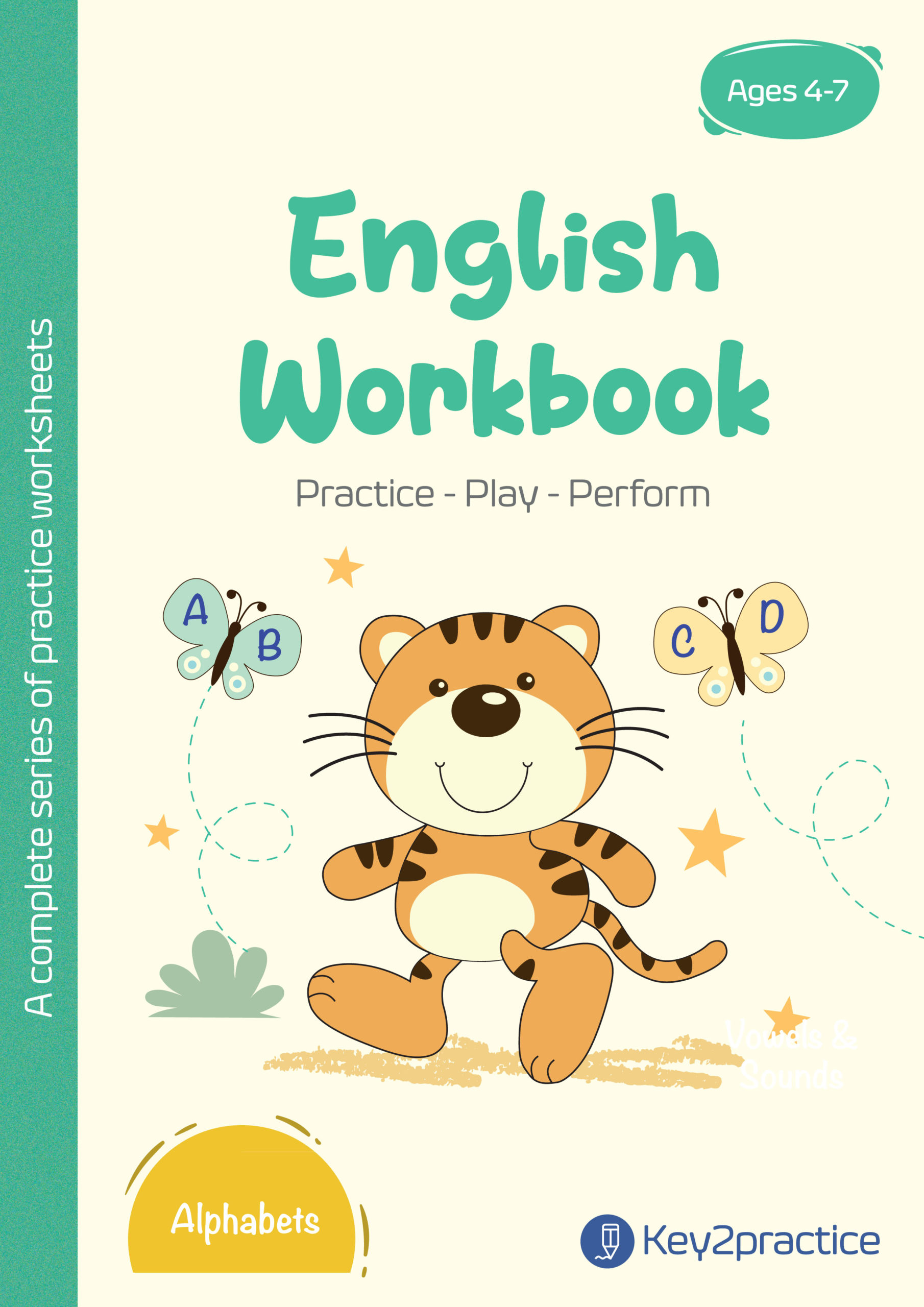 hight resolution of Worksheets on Alphabets Pre-primary - key2practice Workbooks