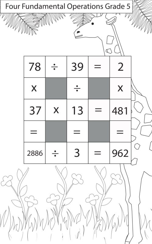 small resolution of Division Questions Class 5 Maths - key2practice Workbooks