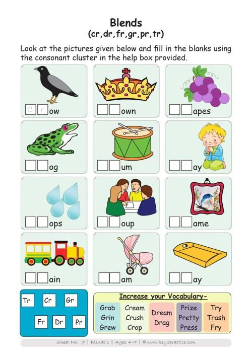 small resolution of Worksheets I Phonics I English I Pre-primary - key2practice Workbooks