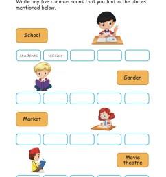 Grade 2 Nouns worksheets I English - key2practice Workbooks [ 1841 x 1302 Pixel ]
