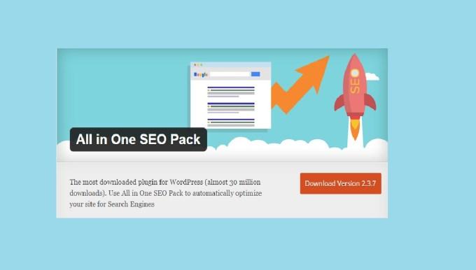 All in One SEO Pack Best SEO WordPress Plugins