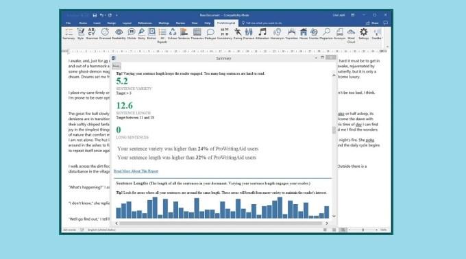 ProWritingAid - the best grammar checker, style editor