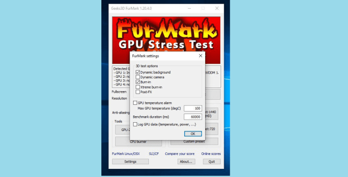 FurMark GPU Stress Test