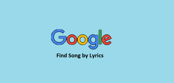 Find Song by Lyrics