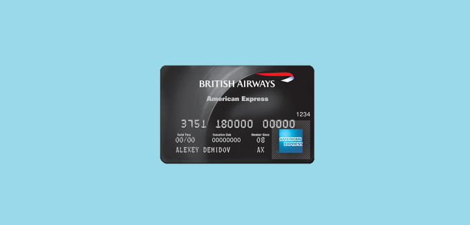 Credit Card British airways
