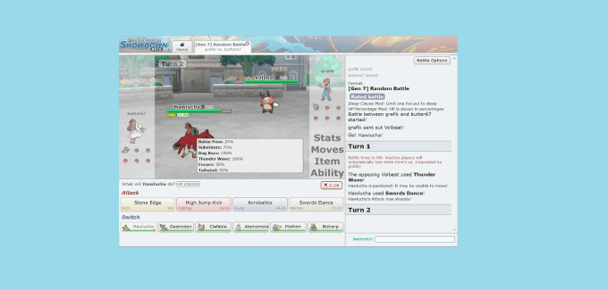 Pokemon Showdown
