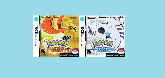 Pokemon HeartGold and SoulSilver cover