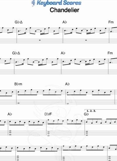 Chandelier – Sia
