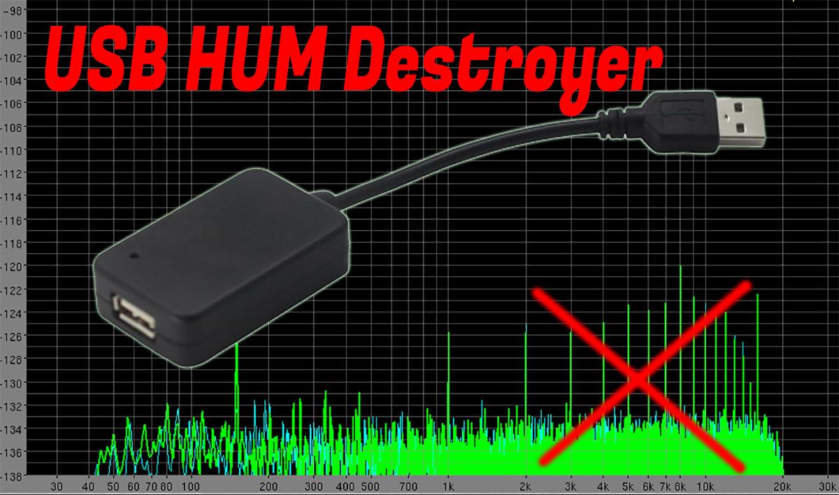 Usb Hum Destroyer
