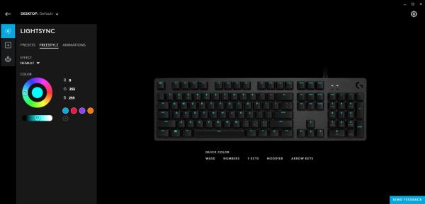 Logitech G512 Review: Debut of the GX Blue Switch