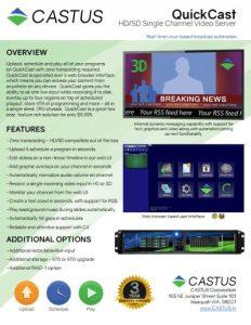 castus-quickcast brochure