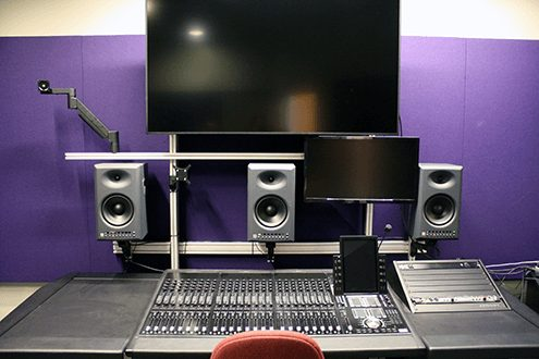 Santa Monica College Avid Audio S6 Console