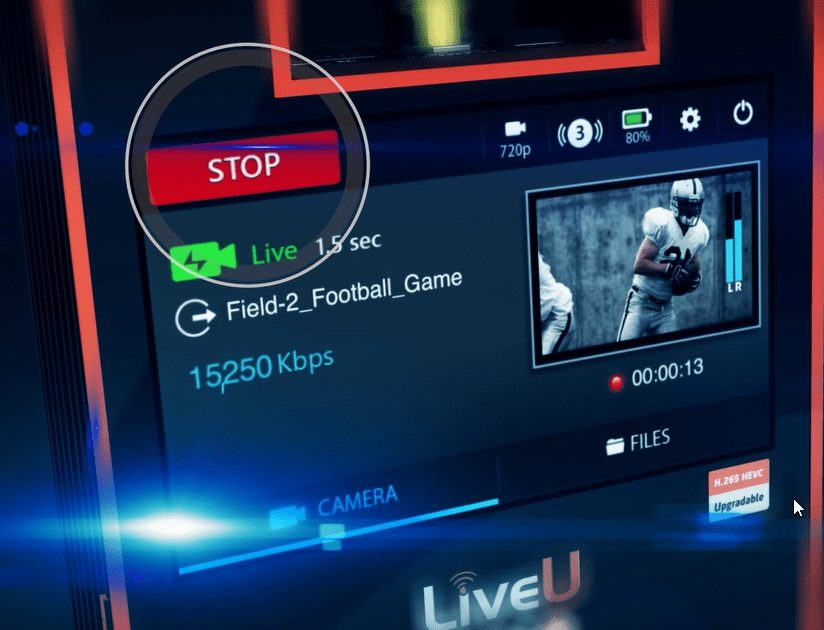 Live U Front Interface